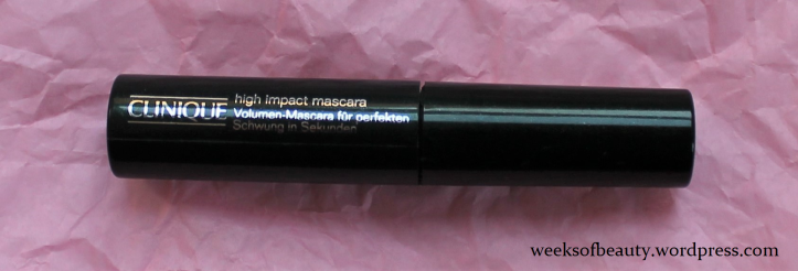 Clinique High Impact Mascara 02 - weeksofbeauty.wordpress.com