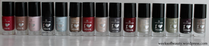 Essence Advent Kalender all