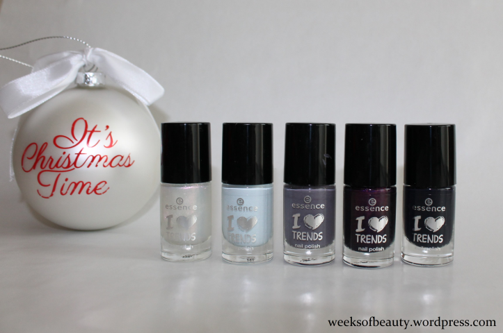 Essence Advent Kalender blues